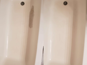 Bathtub Resurface Peeling Repair