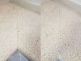 Laminate Counter Seam Repair