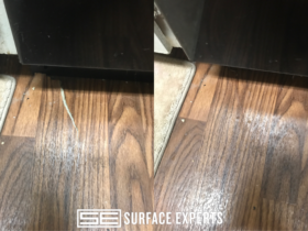 Vinyl Floor Tear Repair