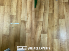 Wood Floor Burn Mark Repair