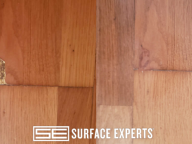 Wood Floor Gouge Repair